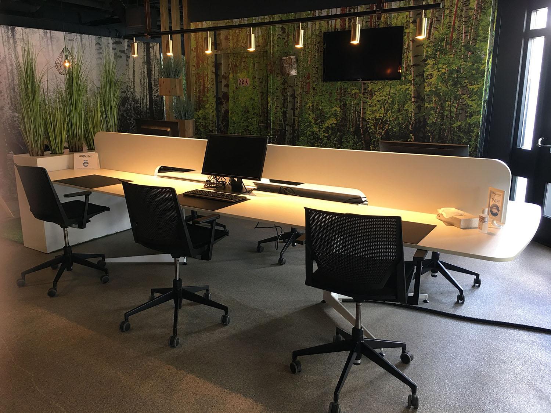 coworking lounge - tafel
